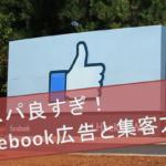 「コスパ良すぎ!」整骨院facebook広告の方法と集客方法